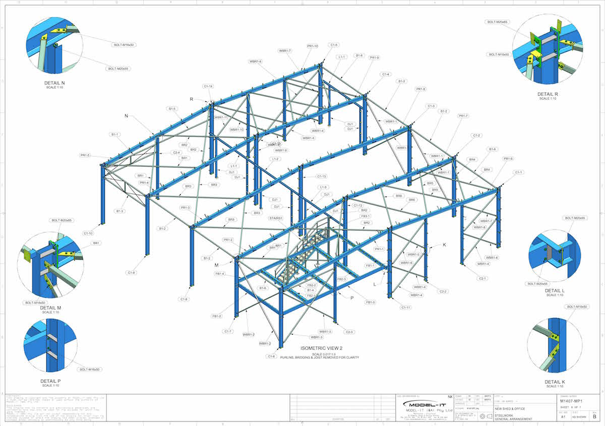Structural Detailing – Various | Model-IT (WA) Pty Ltd